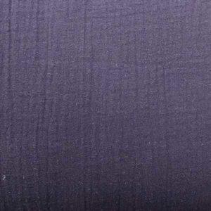 Double Gauze uni - nachtblau