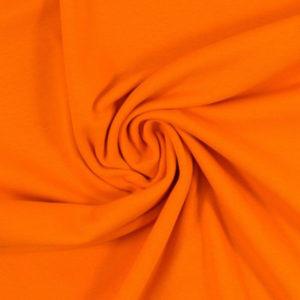 Bündchenstoff - Schlauch orange