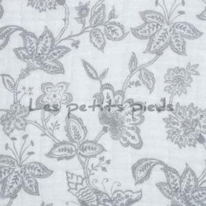 Double Gauze Musselin garden toile grau Shannon Fabrics