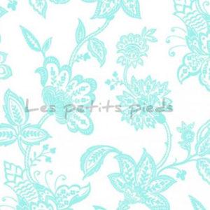 Double Gauze Musselin garden toile mint Shannon Fabrics
