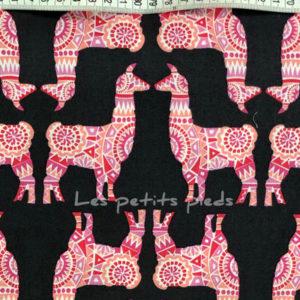 Baumwolle - Michael Miller Lama pink