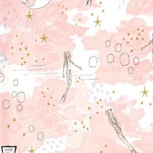 """Baumwolle - """"Meerjungfrau"""" by Sarah Jane rosa"""