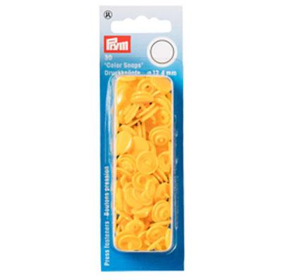 Prym Druckknöpfe gelb