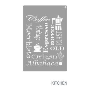 Schablone Kitchen