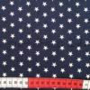 Baumwolle - Sterne dunkelblau / weiss