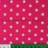Baumwolle - Sterne pink