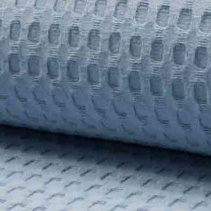 Waffelpique dusty blue