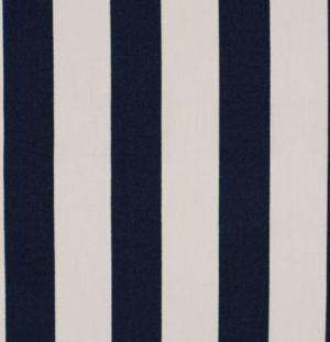 Baumwolle - Blocktreifen dunkelblau / weiss