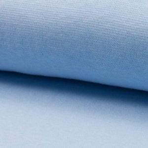 Bündchenstoff Schlauch hellblau