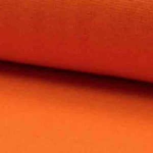 Bündchenstoff Schlauch orange