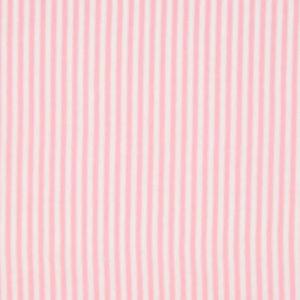 Bündchenstoff Schlauch rosa weiss gestreift