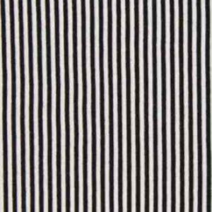 Bündchenstoff Schlauch Streifen schwarz weiss