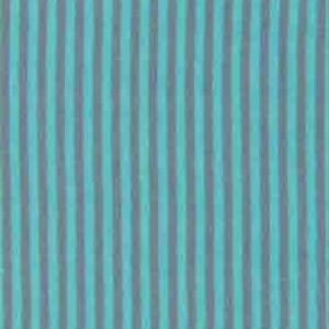 Bündchenstoff Schlauch Streifen türkis grau