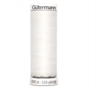 Gütermann Allesnäher 200 m weiss 800