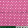 Baumwolle - Herzchen rosa / weiss