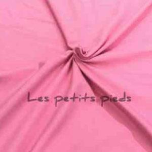 Jersey Baumwolle - uni rosa