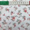 Baumwolle - Streublümchen 2 weiss