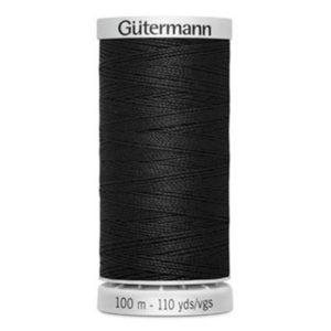 Gütermann Extra stark 100m - schwarz 000