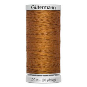 Gütermann Extra stark 100m - orange jeans 448