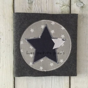 CD Hülle - dunkelblau Sterne