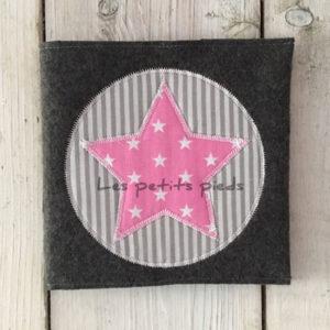 CD Hülle - rosa Sterne