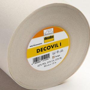 Decovil I - aufbügelbares Vlies mit lederähnlichem Griff