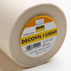Decovil I light - leichtes, aufbügelbares Vlies mit lederähnlichem Griff