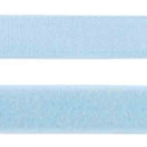 Klettband hellblau 25 mm