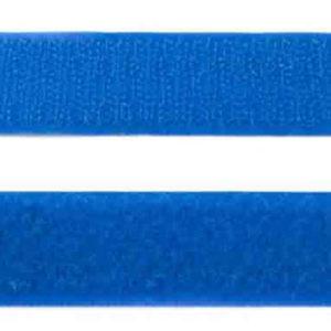 Klettband kobaltblau 25 mm