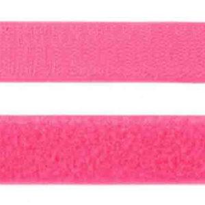 Klettband pink 25 mm