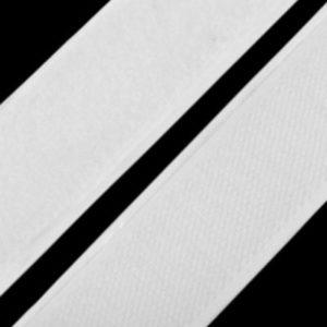 Klettband weiss - selbstklebend 30 mm