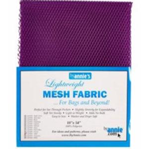 Mesh Fabric Taschennetz - lila