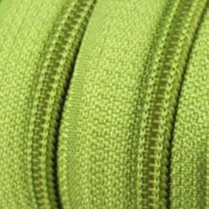 Reissverschluss 5 mm hellgrün
