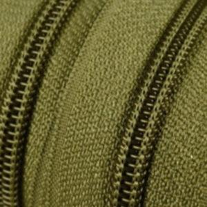 Reissverschluss 5 mm hellolivgrün