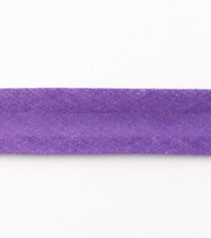 Baumwollschrägband uni lila