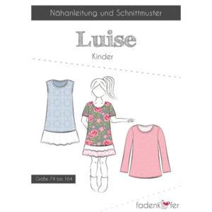 Papierschnittmuster Luise Kinder Gr 74-164 - Fadenkäfer