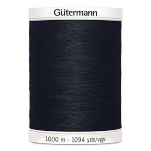 Gütermann Allesnäher 1000m - schwarz 000