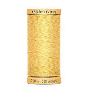 Gütermann Heftfaden / Fadenschlag gelb 200m