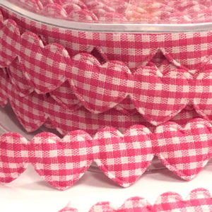 Herzchenborte - pink