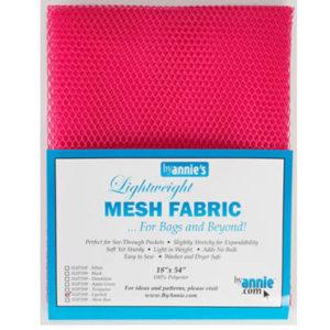 Mesh Fabric Taschennetz - pink