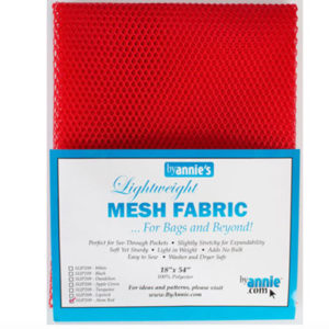 Mesh Fabric Taschennetz - rot