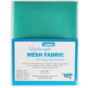 Mesh Fabric Taschennetz - türkis