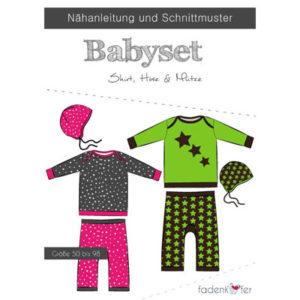 Papierschnittmuster Babyset Gr 50 - 98 - Fadenkäfer