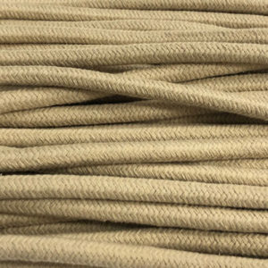 Baumwollkordel sand 10mm