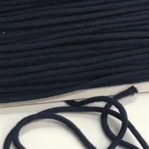 Baumwollkordel dunkelblau 3 mm