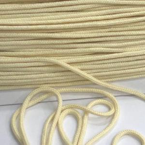 Baumwollkordel hellgelb 3mm