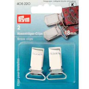 Hosenträger Clips Prym 18 mm