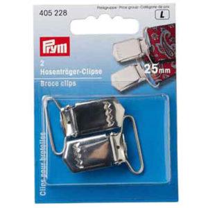 Hosenträger Clips Prym 25 mm