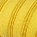 Reissverschluss 5 mm gelb