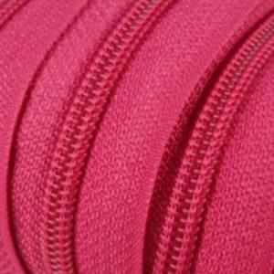 Reissverschluss 5 mm pink